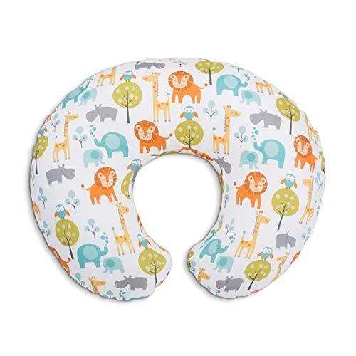 Boppy Stillkissen für Säuglinge 0+ Monate, Ergonomische Form mit Miracle Middle Insert - Stillkissen und Babynest fürs Stillen, Sitzkissen Baby