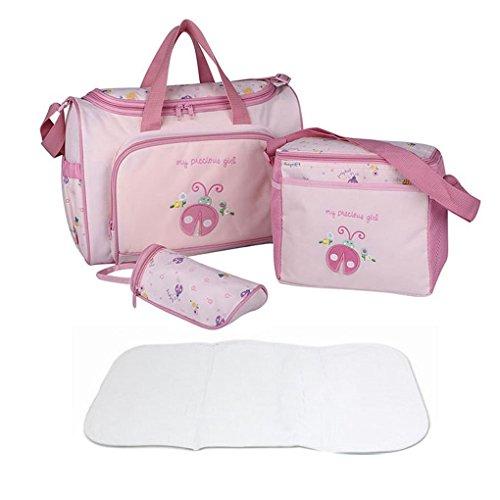 FakeFace - Bolso de asas para hombre, rosa (Rosa) - TRA-BAG-000261-DE Rosa