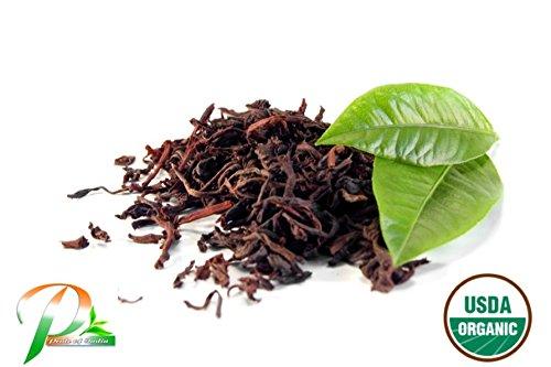Pride Of India - Organic Assam Breakfast Black Tea, Half Pound Leaf Tea - Organic Assam Black Tea