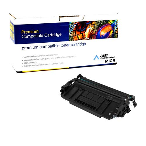 AIM Compatible MICR Replacement for MicroMICR Corp MICR-THN-26X MICR Toner Cartridge (9000 Page Yield) - Compatible to HP CF226X - Generic