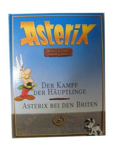 Asterix Sammlerausg, Band 4: der Kampf der Häuptlinge / Asterix bei den Briten Gebundenes Buch – 2006 René Goscinny Albert Uderzo Gudrun Penndorf Weltbild