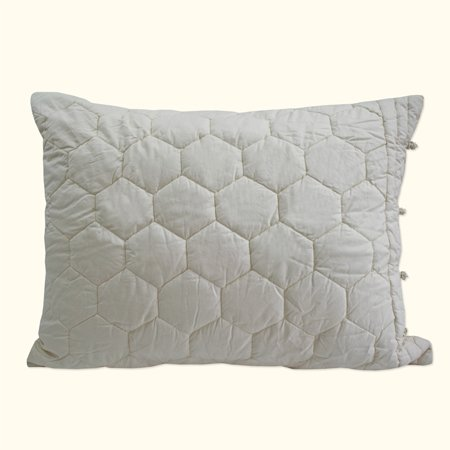 Lexington Pillow Sham Ivory Standard (Lexington Pillow)