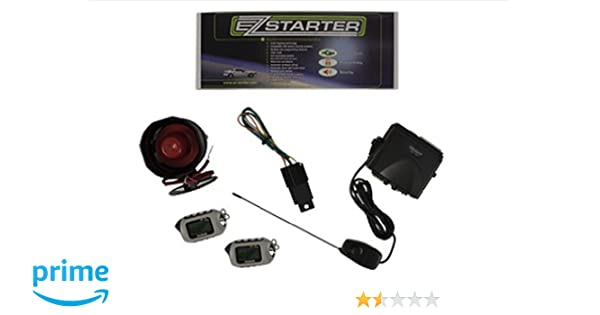Remote starters amazon ez starter ez85 2 way lcd remote start and security system with 2 lcd sciox Image collections