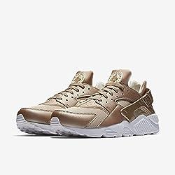 Nike Air Huarache Run Runninggold Leafwhite Sz 10.5 [704830 900] Men