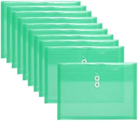 Amazon.com: FJCA sobres de plástico de tamaño legal ...