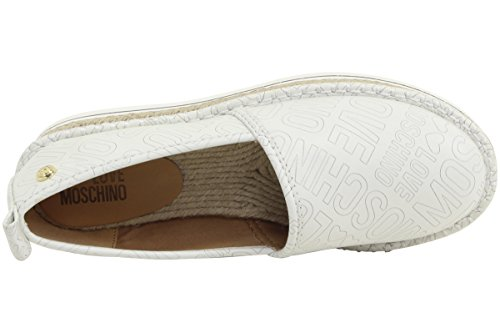 Love Moschino Espadrille Slip On Womens Shoes White by Love Moschino (Image #5)'