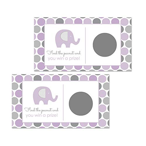 Purple Elephant Scratch Off Game - 28 Cards