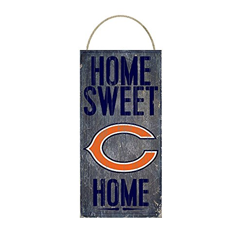NFL Chicago Bears Home Sweet Home Distressed Vintage Sign for NFL Football Sports Fan Wall Decor CHOOSE YOUR TEAM!!! -