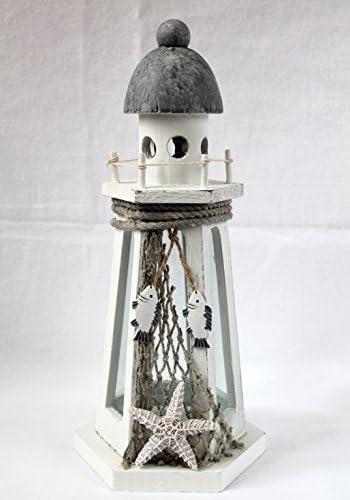 Leuchtturm Laterne Windlicht