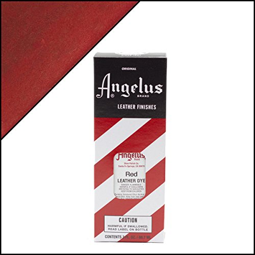 Angelus Leather Dye Red (Dye Red Leather)