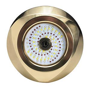 (Lumitec Typhoon Underwater Bronze Thru-Hull LED Light - RGBW Spectrum)