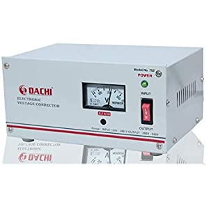 DACHI 0.5 KVA Voltage STABILIZER for Single/Double Door Refrigerator Upto 350 LTR/Air Cooler/Computer from Input(130V…