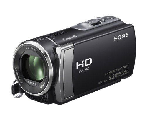 amazon com sony hdr cx190 high definition handycam 5 3 mp rh amazon com High-Tech Sony Camcorder 800 sony handycam hdr-cx210 manual
