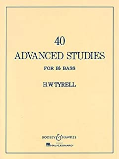43 bel canto studies for tuba or bass trombonemusic for brass 40 advanced studies for bb bass tuba fandeluxe Image collections