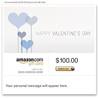 Amazon Gift Card - Email - Happy Valentine's Day (Blue) (B00B2TFCQU) | Amazon price tracker / tracking, Amazon price history charts, Amazon price watches, Amazon price drop alerts