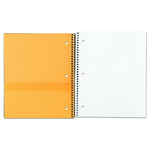"""043100060444 - Five Star Spiral Notebook, 1 Subject, College Ruled Paper, 100 Sheets, 11"""" x 8-1/2"""", Color Will Vary (06044) carousel main 2"""