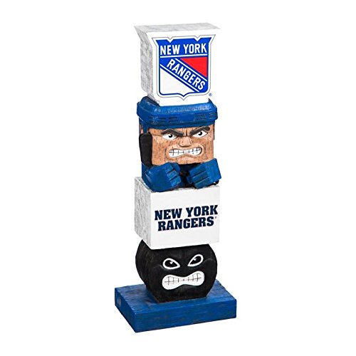 NY Rangers NHL Tiki Totem Lawn Garden Statue all weather Mark Messier