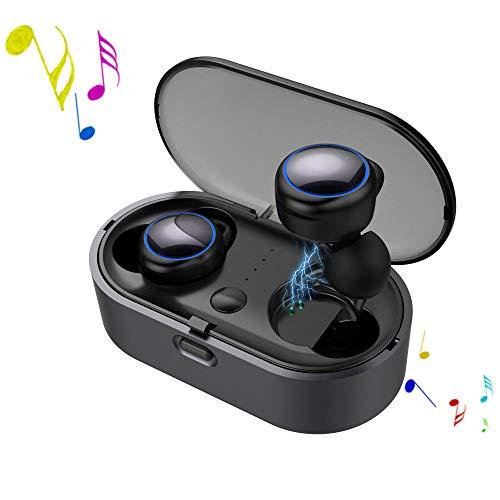 ZJY Auriculares inalámbricos Bluetooth 5,0, audífonos inalámbricos Auto emparejamiento Auriculares inalámbricos Bluetooth...