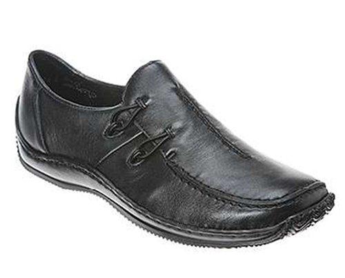 Celia Ladies Leather Casual Shoe L1751 Black 5 / 38 IxgeL