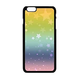 Personalized Creative Cell Phone Case For iPhone 6 Plus,shining colorful star