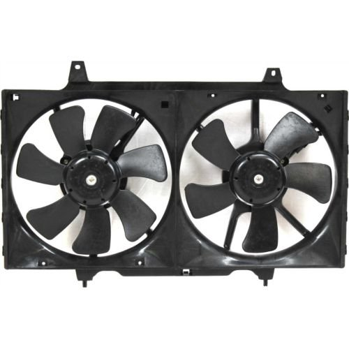 MAPM Premium ALTIMA 98-01 RADIATOR FAN SHROUD ASSEMBLY, Exc 00-01 M.T. by Make Auto Parts Manufacturing