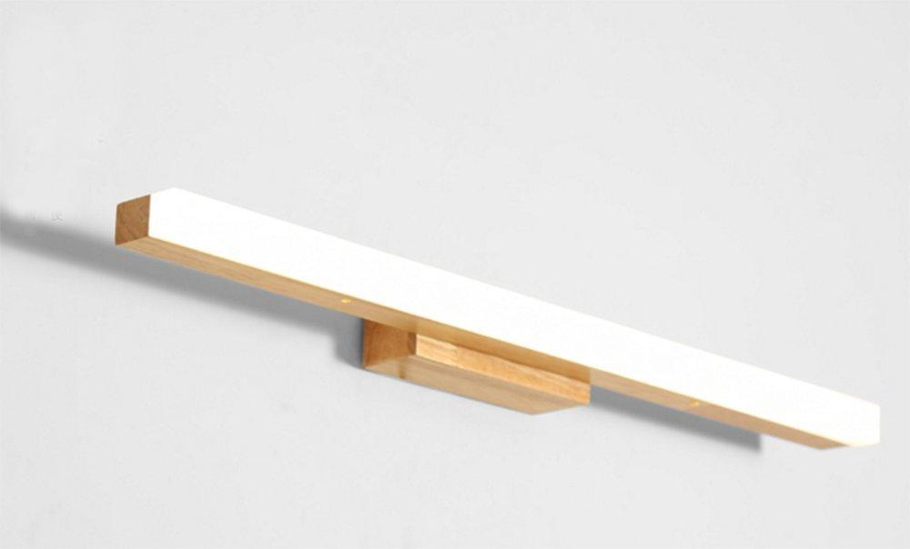 Warm Weiß Light-40 cm LED-Massivholz-Wand-Lampen-Toiletten-Spiegel-vordere Lampen-Schlafzimmer-Nachttischlampe ( farbe   Warm Weiß Light-40 cm )