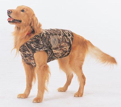 Kobuk 5mm Neoprene Floatation Hunting Dog Vest Jacket Mossy Oak Shadow Grass Size XL