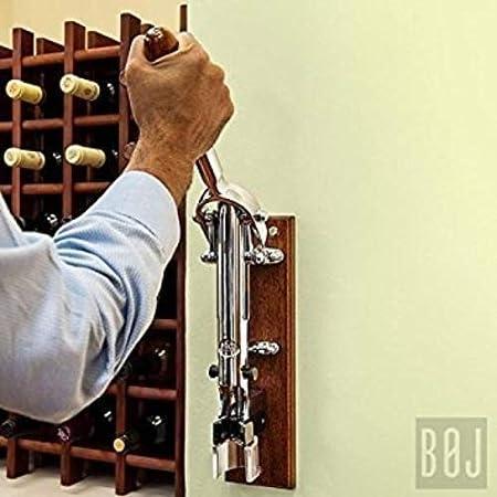 BOJ 09912 - Sacacorchos Profesional de Pared BOJ (Cromado Plata)