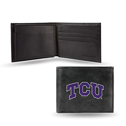 NCAA TCU Horned Frogs Embroidered Leather Billfold ()
