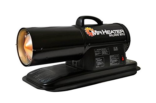 Mr. Heater F270255 MH50KR Contractor 50,000-BTU Forced-Air Kerosene Heater