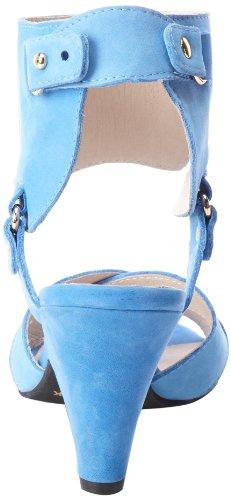 Alle Zwarte Dames Enkellaars Sandaalblauw