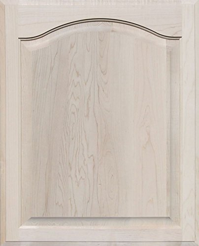 - Unfinished Maple Arch Top Cabinet Door by Kendor, 26 High x 21 Wide