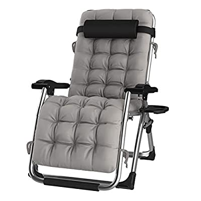 DQCHAIR Sun Lounger Chair with Cup Holder