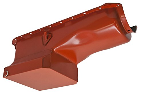 1965-90 Compatible/Replacement for CHEVY BIG BLOCK 396-402-427-454 DRAG RACING OIL PAN - ORANGE