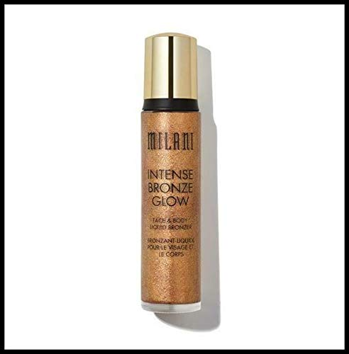 Milani Intense Bronze Glow Face & Body Liquid Bronzer, 1.41 oz