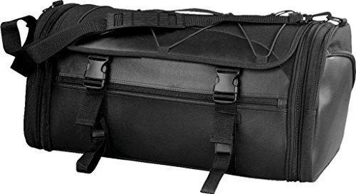 Leather Motorcycle Luggage Rack Bag - 6