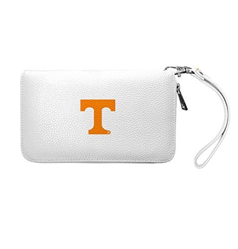 NCAA Tennessee Volunteers Zip Organizer Pebble Wallet