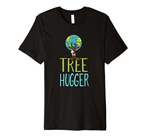 Womens Tree Hugger - POLAR BEAR EARTH TREE HUGGER Environmental Activist T-Shirt