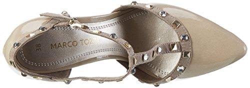 Marco Tozzi 24412, Zapatos de Tacón para Mujer Beige (Dune Comb 435)