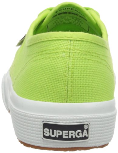 Mixte Superga Green Classic Baskets acid Cotu Vert 2750 Adulte xIvwrIgfq