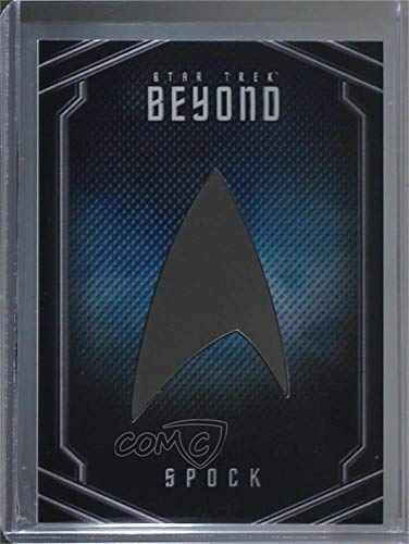 Zachary Quinto; Spock (Trading Card) 2017 Rittenhouse Star Trek Beyond - Uniform Pin Relics #UB10 ()