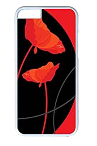 Brian114 Red Poppy 32 Phone Case for the iPhone 6 Plus White