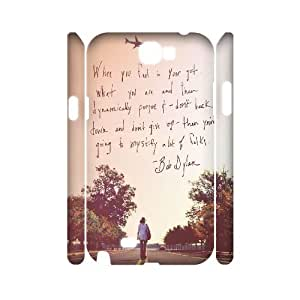 Bob Dylan Discount Personalized 3D Cell Phone Case for Samsung Galaxy Note 2 N7100, Bob Dylan Galaxy Note 2 N7100 3D Cover