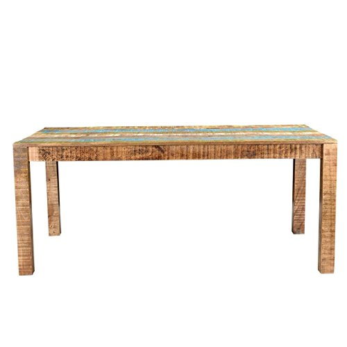 - Svitlife Timbergirl Suman Rustic Multicolor Dining Table - 71