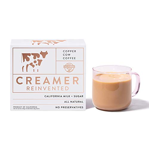 Copper Cow Coffee California Liquid Creamer Pouches | Rich Smooth Vietnamese Style Condensed Milk Coffee Creamer | All…
