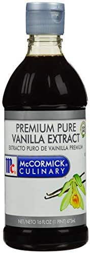 Extracts: McCormick Culinary Pure Vanilla Extract