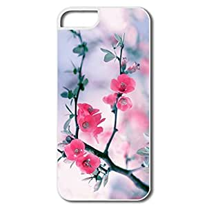 Cool Pink Blossom Flowers Spring IPhone 5/5s Case For Him
