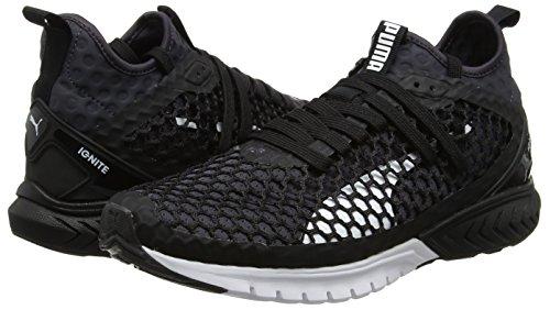 Pour Chaussures 03 Puma Hommes black Dual Multisport quiet Air Ignite Netfit Shade Noir Plein De 8pdxwqrpS
