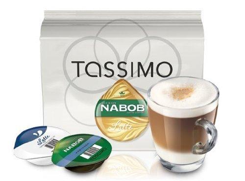 Nabob Tassimo Latte 16 T-Discs(8 Servings), 8-Count