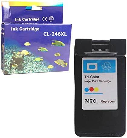 ZET Remanufactured Ink Cartridge Replacement for Canon 246XL CL-246XL Used in PIXMA MX492 MX490 MG2520 MG2522 MG2525 MG2920 MG2922 MG2924 MG3022 Printers Color, 1 Pack